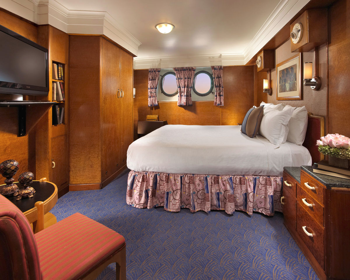 Queen Mary Hotel Rooms