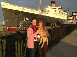 Gure, Scotti, and Luke at the Queen Mary